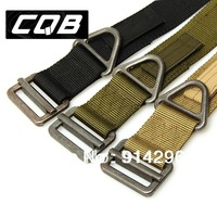 "New Original Blackhawk CQB/Rescue Rigger's Belt Regular 27"" to 48'' Black Green Khaki"