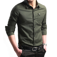 High quality  NEW style free shipping Male shirts casual shirt long-sleeve shirt trend slim  brand shirt MS0002