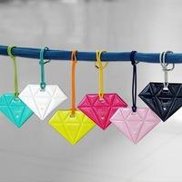 Diamond Travel Luggage Tag, six -color