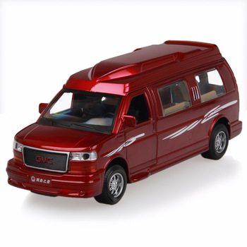 Alloy toy car general gmc car commercial alloy car model acoustooptical WARRIOR open the door