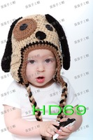 Fashion van - baby handmade crocheted hat style cotton