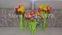 artificial flower plush flower 33cm valentine present  100 pcs free shipping