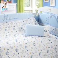 baby bedding piece set 100% cotton bed around kit   8 items