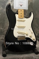 Hot seller best china guitar High Quality new style RELIC BLACK electric guitar 100% Excellent Quality