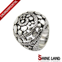 Free Shipping Min Order $10(Mix Order)2013 New Arrival Women and Men Vintage Antique Silver Plated Statement Rings Jewelry
