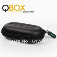 Qcy bluetooth earphones original storage bag box portable earplug box anti-rattle belt zipper