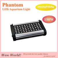 Phantom LED aquarium light 150W, remote controll timer, blue: whtie =1:1/ 2:1/ 1:2, for coal reef, customizable