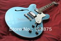 best china guitar Deluxe Mode Custom shop High quality Electric Guitar Rare Color Pelham Blue Mint Fujigen100% Excellent Quality