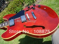 Custom shop High quality Electric Guitar Red Vintage #45610100% Excellent Quality100% Excellent Quality