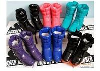 botas women wholesale  fashion ski winter snow boots sapatos shoes for women genuine leather thick wool cotton boots esqui,65