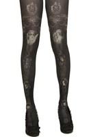 Grimoire HARAJUKU g vintage cross thin pantyhose