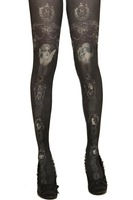 Grimoire HARAJUKU g vintage cross thin pantyhose