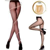 8d ultra-thin stockings t low-waist sexy Core-spun Yarn silk pantyhose female stockings 49