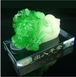 Auto supplies decoration car perfume seat jade greenstick pe-tsai one hundred financial belt decoration gift  supplier