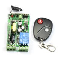 DC 85V-250V 30A RF 1CH Wireless Remote Control Switch And Waterproof Remote System CONTROL SWITCH Remote Switch