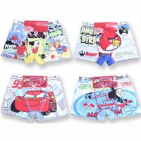12pcs=lot boy`s  panties, 100% cotton children underwear, children panties, size can be choose, K6401, free shipping