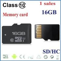 100% real 1pcs/lot New Memory card 16GB Class10 high speed MicroSD SDHC Card class10 16GB tf memory