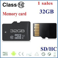FREE SHIPPING 1pcs/lot New Memory card 32GB Class10 high speed MicroSD SDHC Card class10 32G 32GB tf memory card