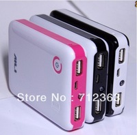 50pcs,4 x 18650 battery Box Shell,2A INPUT,2A OUTPUT, 18650 Charger, Portable Power,  POWER BANK Case for iPhone 5/4S/ Samsung