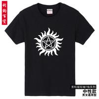 free shipping / S-XXL supernatural logo tee women clothing T shirt men plus size casual shirt tops shirt women