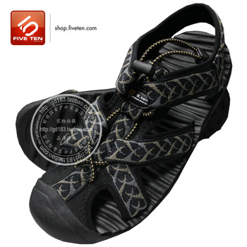 Outside sport casual 5.ten men's male sandals beach sandals male sandals