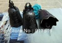 10pcs antique bronze Ringing bells alloy charms bracelet necklace pendant diy phone cabochon jewelry findings accessories
