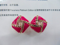Fashion women Classic Design Love Knot Post Stud Earrings FREE SHIPPING