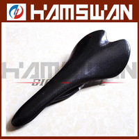 New Carbon Saddle Carbon Black with Gray Color Road Cycling MTB Replacement