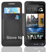 BLACK FLIP CASE EXTERNAL BATTERY CHARGER POWER BANK 3800 MAH FOR HTC ONE M7