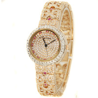Sculpture fashion melissa fashion chain belt table watch female fashion table sparkling rhinestone sheet gift