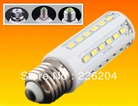 High Power 110V/220V Corn Bulb E27 B15 B22 12W 5630 samsung SMD 42 LED Light Home Bedroom Lamp E14 220V 360 degree 50pcs/lot
