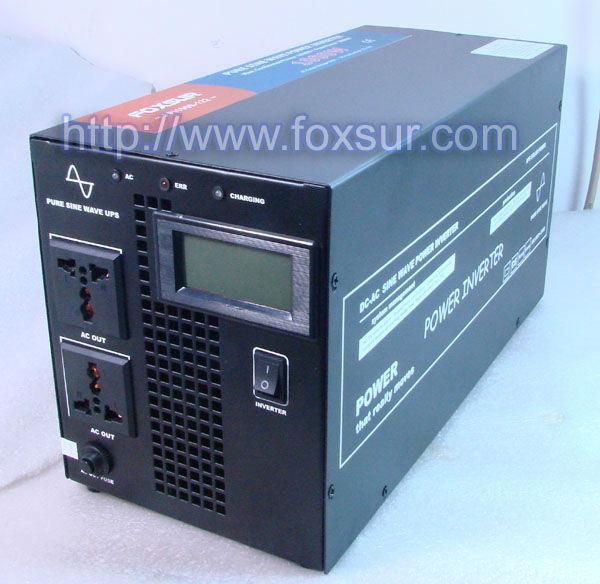 1000w pure sine wave inverter UPS inverter 12v 24V 48V to 230v with charger function(China (Mainland))