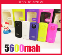 New Portable Battery Charger External USB Power Bank 5600mAh for Mobile