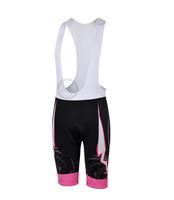 Free Shipping  3d Women's Cycling Bicycle Bib Shorts Coolmax Padded Braces Pant