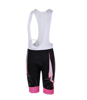 Free Shipping  3d Women's Cycling Bicycle Bib Shorts Coolmax Padded Braces Pant