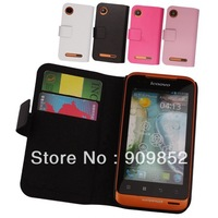 High Quality Leather case for Lenovo A660,Doormoon 100%Real cowhide case cover,Free shipping