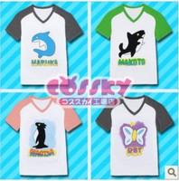 Unisex Free! Iwatobi Swim Club REI Nakoto Magisa Haruka Cosplay Costume/Shirt/Tee