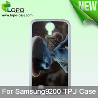 Free shipping !!!!! Sublimation Phone Cover for Samsung Galaxy Mega6.3/I9200( TPU material)