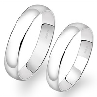 Aceman s925 pure silver ring simple love lovers accessories fashion finger ring