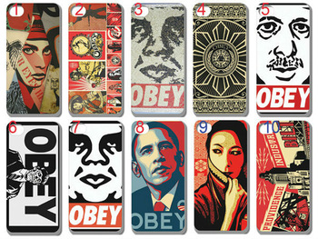 2013 hot new design 10pcs/lots OBEY case cover for iphone 4 4S 4g+free shipping