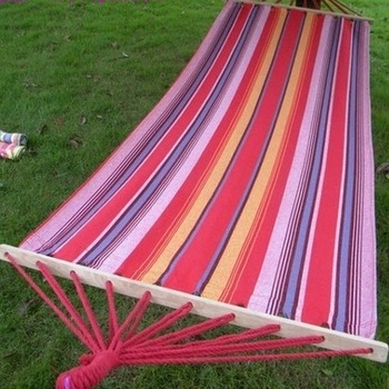 Shuangmu rod canvas hammock lashing