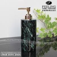 Ceramic green marble soap bottle supplies wedding gift