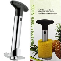 AMAZING PRICE! Novelty Homeholds stainless steel Fruit Pineapple Corer Slicer Peeler Cutter Parer Knife wholesale 72pcs/lot