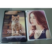 PC DIY sublimation blank case for ipad mini  with  aluminium metal sheet with glue 100 pcs/lot DHL free shipping