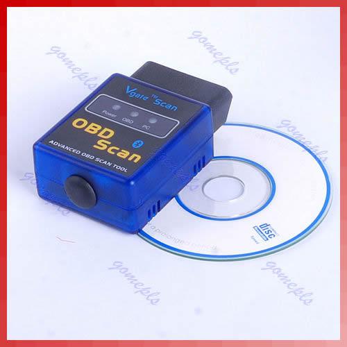 A31 Big Discount! ELM327 V1.5 Bluetooth OBD 2 CAN Auto Scan Diagnostic Tool EOBD-II Free Shipping(China (Mainland))