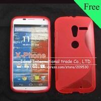 s line case For Moto Motorola X Phone XT1060,silicone gel tpu cover case skin,30pcs+free shipping