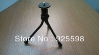 Flexible Mini desk 3-inch Metal Tripod Stand for digital camera gopro free shipping high quality