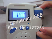 hot sale fetal doppler LCD display Baby heart beat monitor Rechargeable Batteries backlight LCD