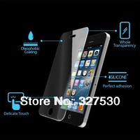 Newest Top Quality Tempered Glass Explosion-proof Membrane Screen Protector for iphone4 4s 5 with Retail packaging 50pcs/lot