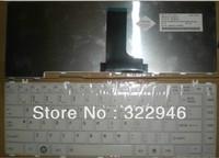 FREEshipping NEW ORIGINALGENUINE laptop keyboard for TOSHIBA  L600-11W L600-86W L600-23W L600-02W L600-55W 58W